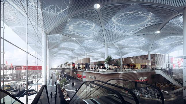 مطار إسطنبول الجديد سيوفر فرص عمل لنحو مليون ونصف المليون شخص في تركيا