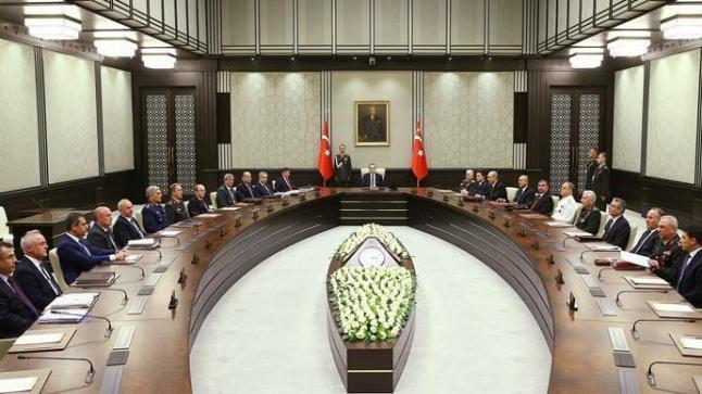 مجلس الأمن القومي التركي يؤكد عدم السماح بإقامة دولة إرهابية على الحدود