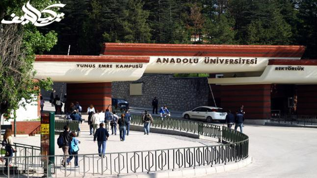 جامعة الأناضول في اسكي شهير Anadolu University